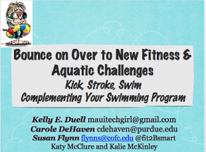 Bounce on Over to New Fitness and Aquatic Challenges